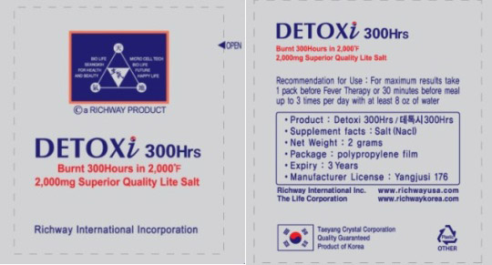 DETOXI 300HRS Packet