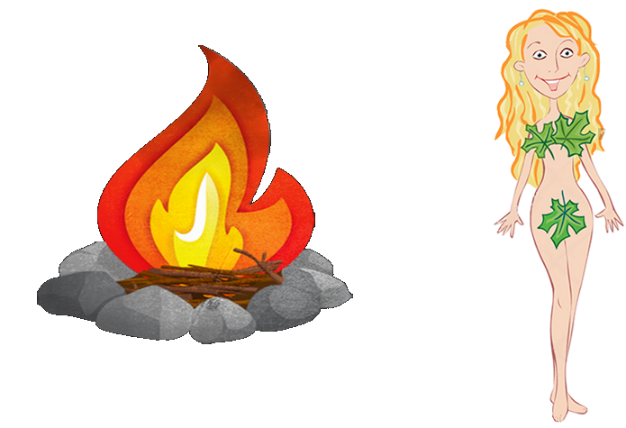Campfire Vs Naked Lady
