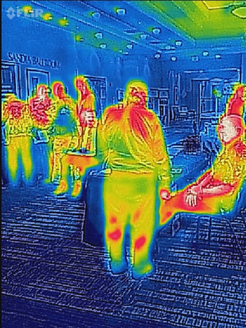 Tesla Infrared People